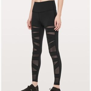 Lululemon Wunder Under tech mesh